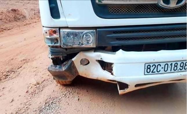 Bò tót 800 kg lao vào ôtô chết vì phản ứng với còi xe - ảnh 1