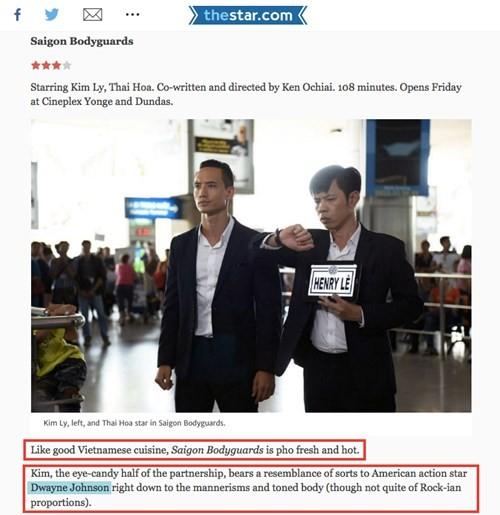 """Kim Lý được báo quốc tế so sánh với siêu sao """"The Rock"""" - ảnh 2"""