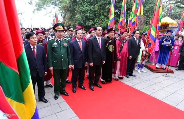 Chủ tịch nước dâng hương tưởng niệm các Vua Hùng - ảnh 5