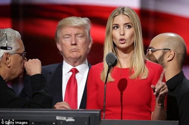 Ái nữ Ivanka Trump như nữ thần trong mắt người Trung Quốc - ảnh 1