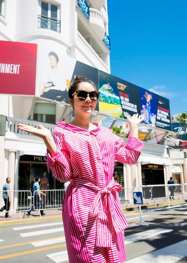 Bộ Văn hóa lên tiếng về vụ hình ảnh Lý Nhã Kỳ ở Cannes - ảnh 1