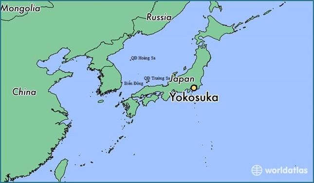 Tàu chiến Mỹ bị đâm thủng, chìm ngoài khơi biển Nhật Bản - ảnh 1