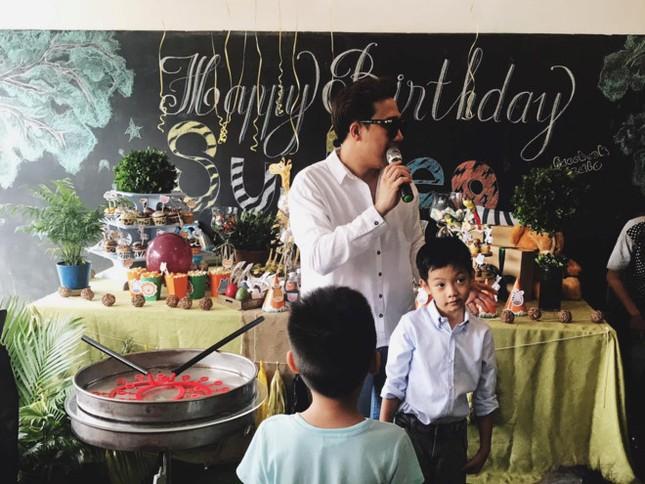 Hồ Ngọc Hà, Cường Đô La tái hợp tổ chức sinh nhật cho Subeo - ảnh 1