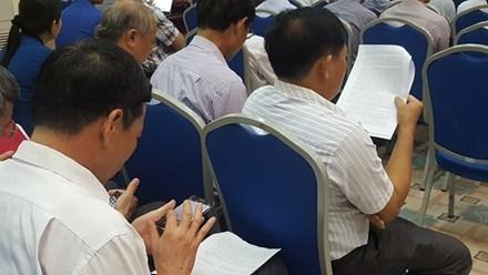 Công bố dự thảo kết luận thanh tra quản lý, sử dụng đất ở Đồng Tâm - ảnh 6