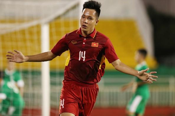 U22 Việt Nam lên ngôi đầu sau mưa bàn thắng vào lưới Macau - ảnh 1