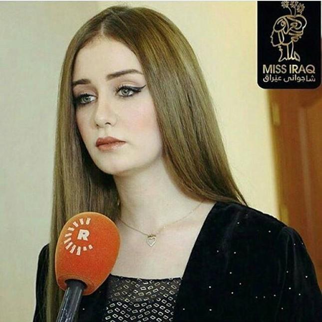 Tân hoa hậu Iraq bị tước vương miện vì gian dối chuyện kết hôn - ảnh 1