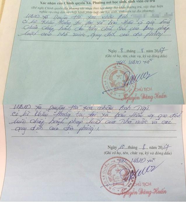 Bộ Tư pháp sẽ trao đổi với Bộ Giáo dục về việc bút phê lý lịch - ảnh 1