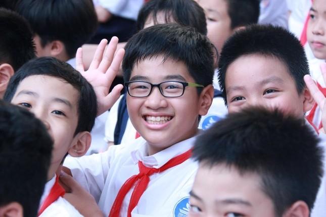Chủ tịch nước Trần Đại Quang dự lễ khai giảng ở Trường Trưng Vương - ảnh 5