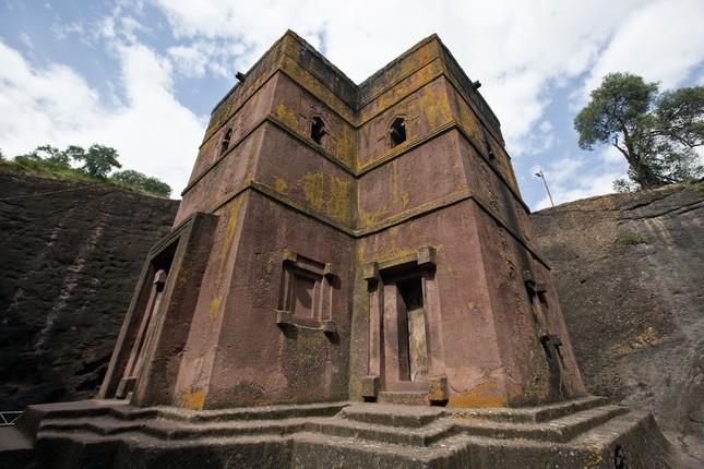 Nhà thờ đá Lalibela - kiến trúc độc đáo của Ethiopia - ảnh 2