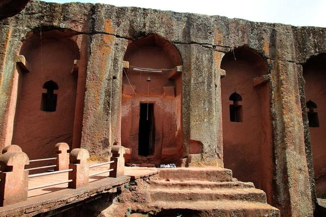 Nhà thờ đá Lalibela - kiến trúc độc đáo của Ethiopia - ảnh 3