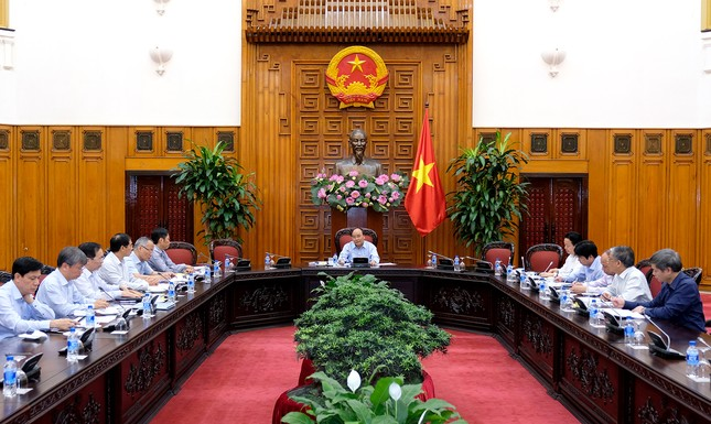 Thủ tướng chủ trì cuộc họp về hợp tác thương mại Việt Nam-EU - ảnh 1
