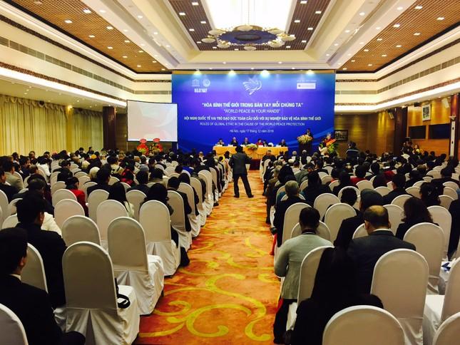 Liên hiệp các hội UNESCO Việt Nam tổ chức thành công hội nghị quốc tế Đạo đức Toàn cầu - ảnh 4
