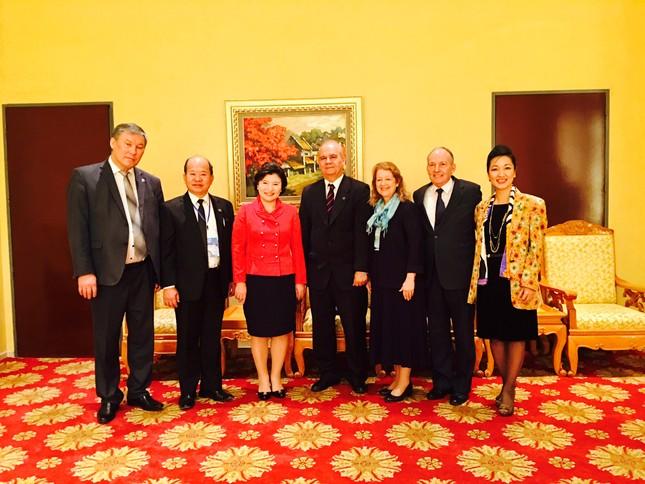 Liên hiệp các hội UNESCO Việt Nam tổ chức thành công hội nghị quốc tế Đạo đức Toàn cầu - ảnh 5