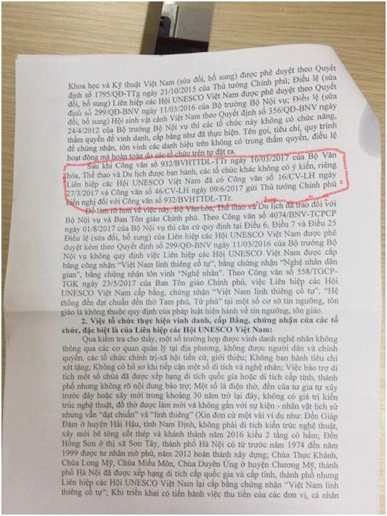 """Hết """"nhầm đến lẫn"""", có lẽ văn thư không báo cáo lãnh đạo Bộ VHTT&DL - ảnh 1"""
