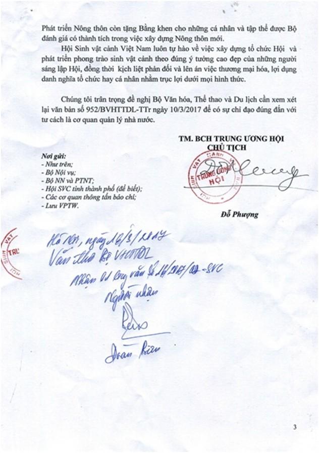 """Hết """"nhầm đến lẫn"""", có lẽ văn thư không báo cáo lãnh đạo Bộ VHTT&DL - ảnh 2"""