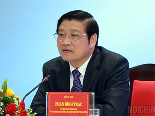 Bổ sung ông Phan Đình Trạc và ông Nguyễn Xuân Thắng vào Ban Bí thư - ảnh 1