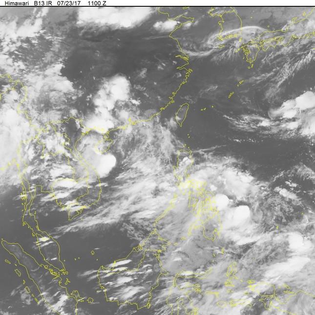 Thời tiết ngày 24/7: Bắc Bộ nắng nóng trở lại, bão số 4 chuẩn bị đổ bộ vào bờ biển nước ta  - ảnh 1