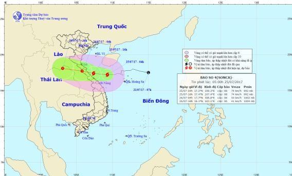 Các tỉnh Bắc Trung Bộ gấp rút ứng phó bão số 4 - ảnh 4
