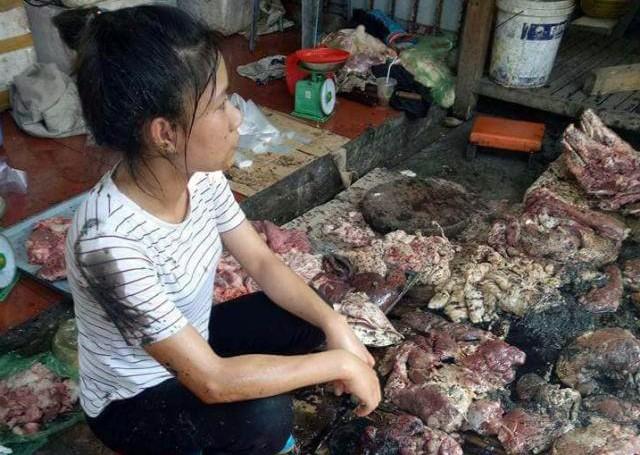 Vụ hắt dầu luyn vào phản thịt lợn: 2 bị cáo bị xử 18 tháng tù - ảnh 2