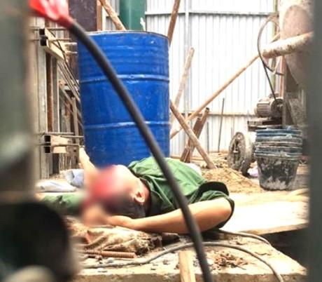 Nổ thùng phuy khiến 1 công nhân bị thương ở mặt - ảnh 1