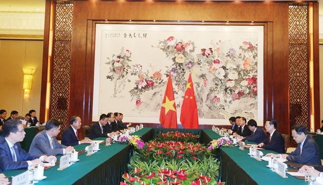 Phó Thủ tướng Trương Hòa Bình gặp gỡ Phó Thủ tướng Trung Quốc - ảnh 2