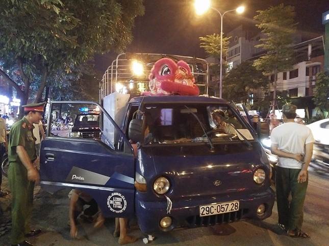 Hà Nội: Người đàn ông đột tử trên xe tải - ảnh 1