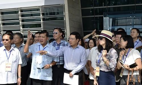 Phó Thủ tướng Phạm Bình Minh chỉ đạo công tác sơ duyệt APEC 2017 - ảnh 1