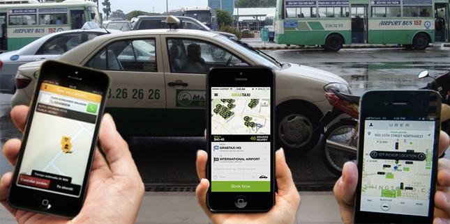 Taxi truyền thống 'khẩu chiến' với Uber và Grab - ảnh 2