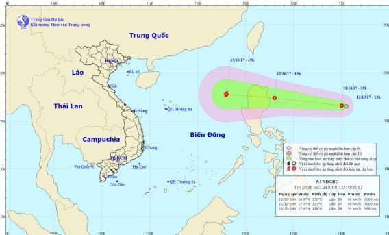 Tiếp tục xuất hiện áp thấp nhiệt đới trên biển Đông - ảnh 1
