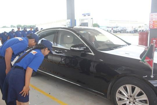 Không có chuyện cấm công chức Hà Nội mua xăng tại trạm xăng Nhật Bản - ảnh 1