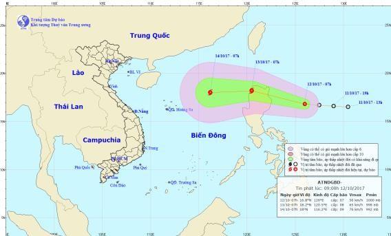Áp thấp nhiệt đới sẽ mạnh lên thành bão - ảnh 1