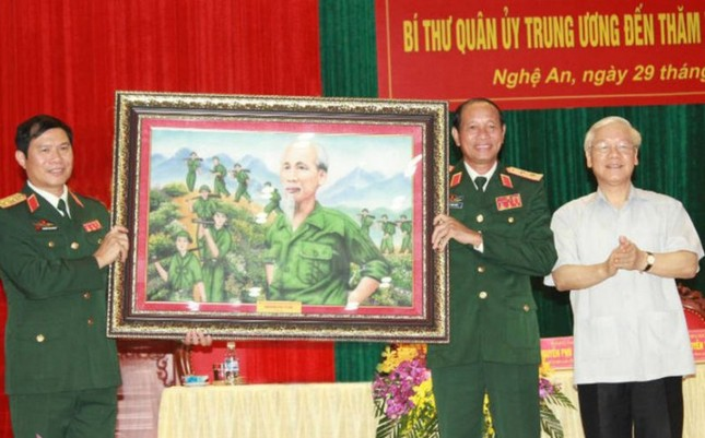 Tổng Bí thư Nguyễn Phú Trọng về làm việc tại tỉnh Nghệ An - ảnh 2