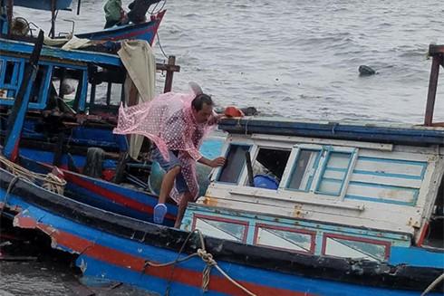 Sập nhà, tốc mái,chìm thuyền, Khánh Hòa thiệt hại tiền tỷ sau bão - ảnh 3