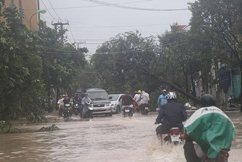 Sập nhà, tốc mái,chìm thuyền, Khánh Hòa thiệt hại tiền tỷ sau bão - ảnh 1