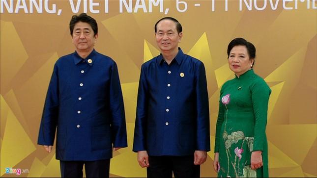 APEC 2017: Chủ tịch nước Trần Đại Quang chủ trì tiệc thiết đãi các lãnh đạo quốc tế - ảnh 5