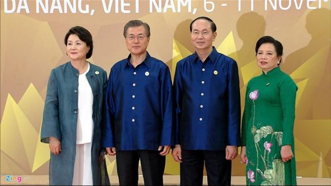 APEC 2017: Chủ tịch nước Trần Đại Quang chủ trì tiệc thiết đãi các lãnh đạo quốc tế - ảnh 4