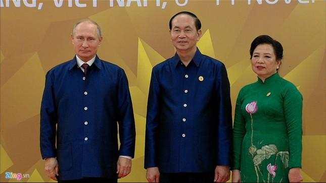 APEC 2017: Chủ tịch nước Trần Đại Quang chủ trì tiệc thiết đãi các lãnh đạo quốc tế - ảnh 1