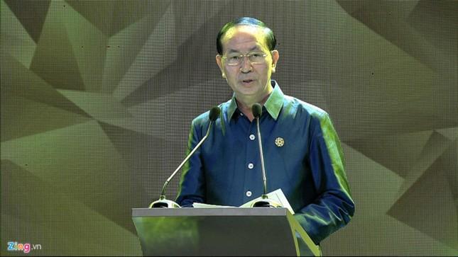APEC 2017: Chủ tịch nước Trần Đại Quang chủ trì tiệc thiết đãi các lãnh đạo quốc tế - ảnh 8