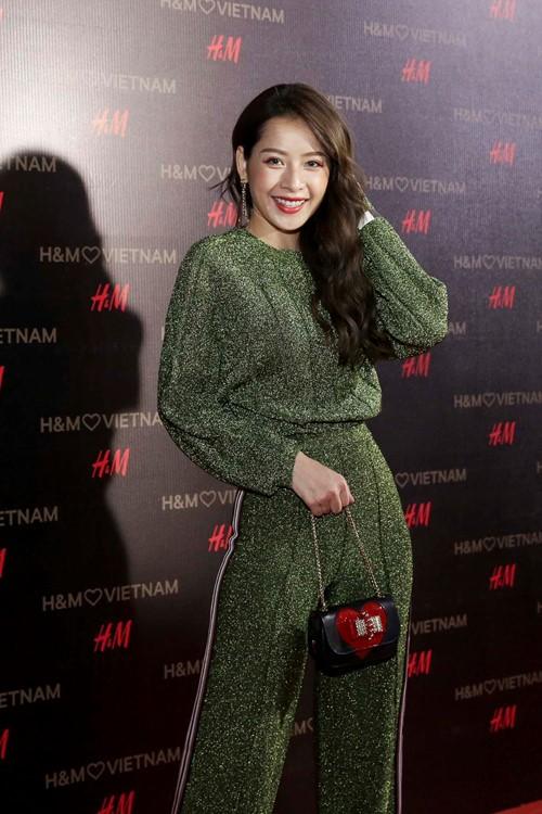 'Rừng' sao Việt tỏa sáng tại thảm đỏ H&M - ảnh 2