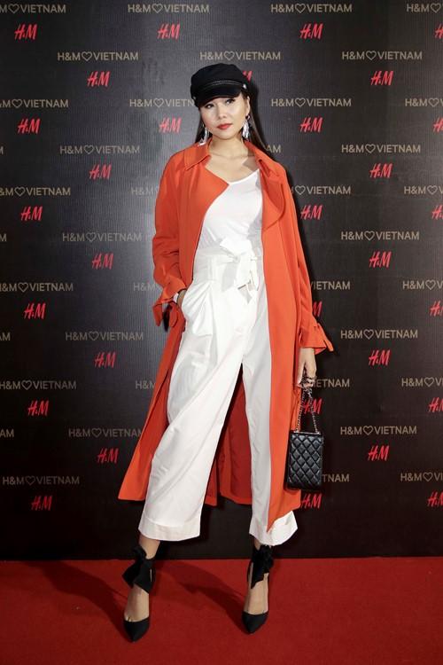 'Rừng' sao Việt tỏa sáng tại thảm đỏ H&M - ảnh 3