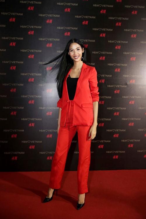 'Rừng' sao Việt tỏa sáng tại thảm đỏ H&M - ảnh 4