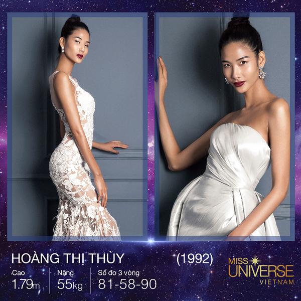 Hoàng Thùy giành chiến thắng đầu tiên tại Hoa hậu Hoàn vũ Việt Nam 2017 - ảnh 1