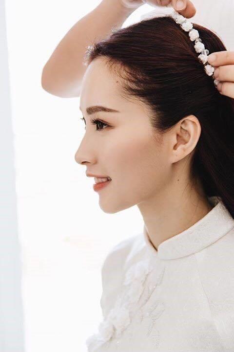 Loạt ảnh Hoa hậu Thu Thảo rạng rỡ bên ông xã Trung Tín trong ngày ăn hỏi - ảnh 2