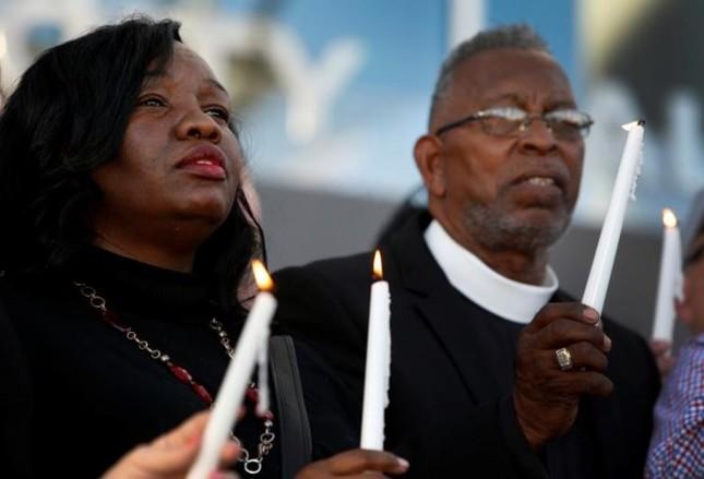 Cả nước Mỹ tưởng niệm các nạn nhân vụ xả súng ở Las Vegas - ảnh 6