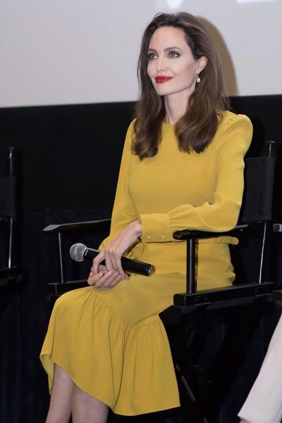 Hà Phương được gặp riêng minh tinh Angelina Jolie ở Hollywood - ảnh 3