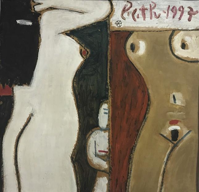 Triển lãm tranh 'nude' của nhà điêu khắc 87 tuổi  - ảnh 3
