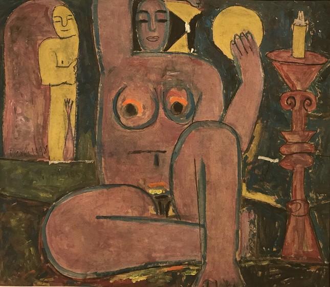 Triển lãm tranh 'nude' của nhà điêu khắc 87 tuổi  - ảnh 4