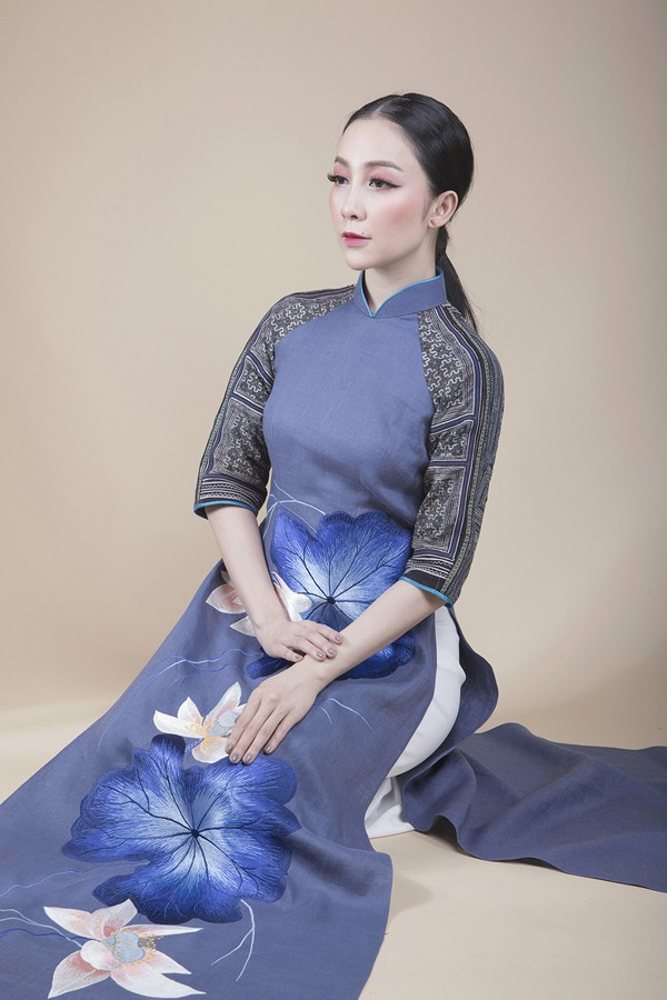 Linh Nga lựa chọn áo dài để biểu diễn tại APEC 2017 - ảnh 3