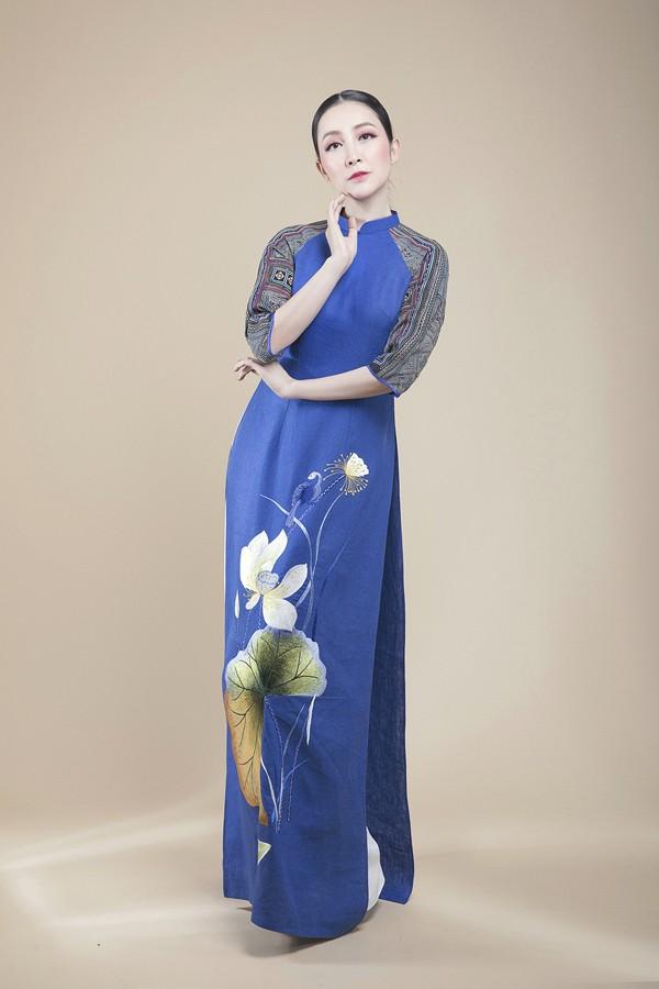 Linh Nga lựa chọn áo dài để biểu diễn tại APEC 2017 - ảnh 4