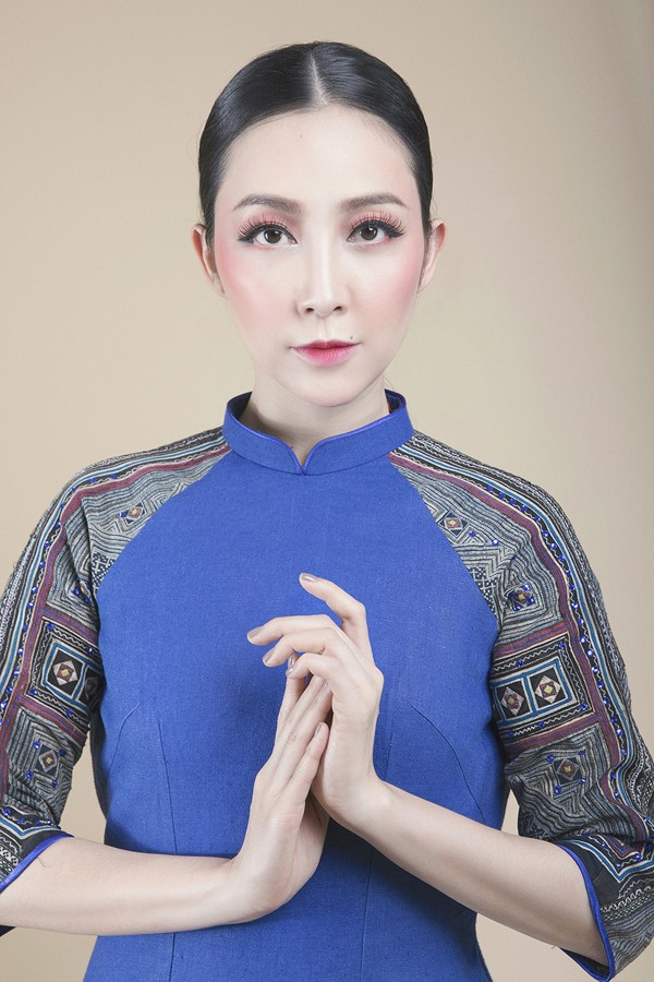 Linh Nga lựa chọn áo dài để biểu diễn tại APEC 2017 - ảnh 5